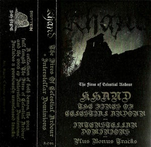 Image of Khand - The Fires of Celestial Ardour, Interstellar Dominions, Bonus Tracks