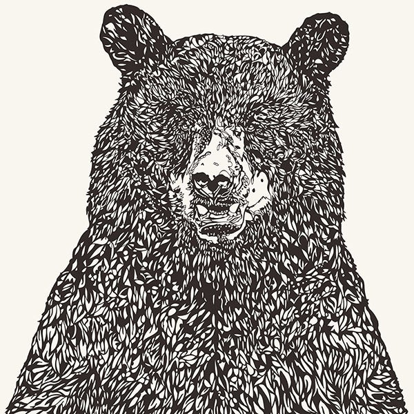 Image of BIG BEAR screen print