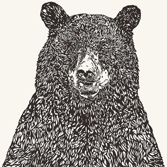 Image of BIG BEAR screen print