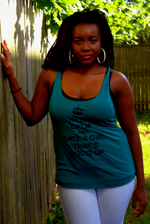 Image of Keep Calm and Date a Girl That's Loc'd Up
