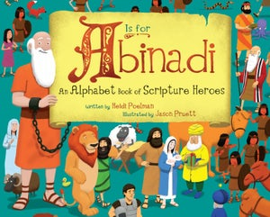 Image of 'A is for Abinadi' signed by the illustrator - Sold out