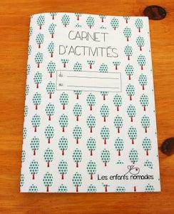 Image of Carnet d'activités