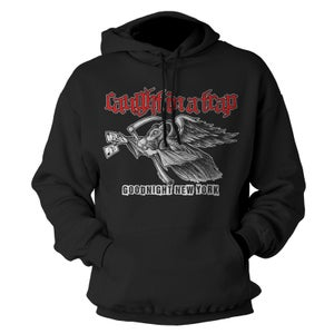 """Image of CAUGHT IN A TRAP """"Goodnight New York"""" Hoodie"""