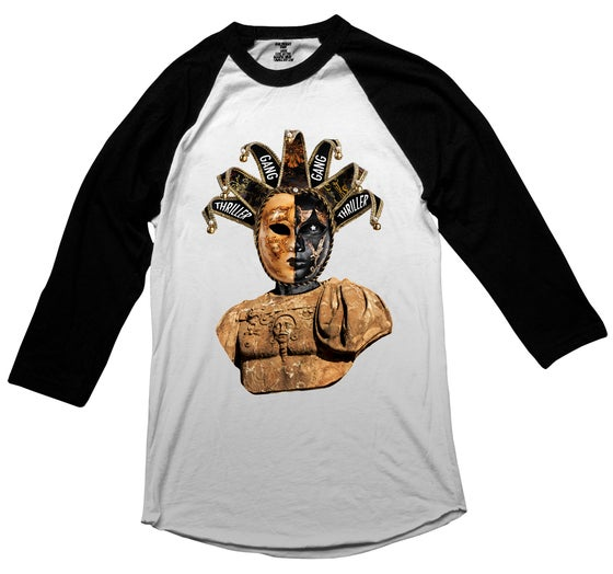 "Image of #THRILLERGANG ""Jester"" Baseball Tee"