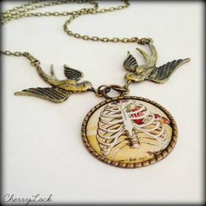 Image of Bird Cage Necklace