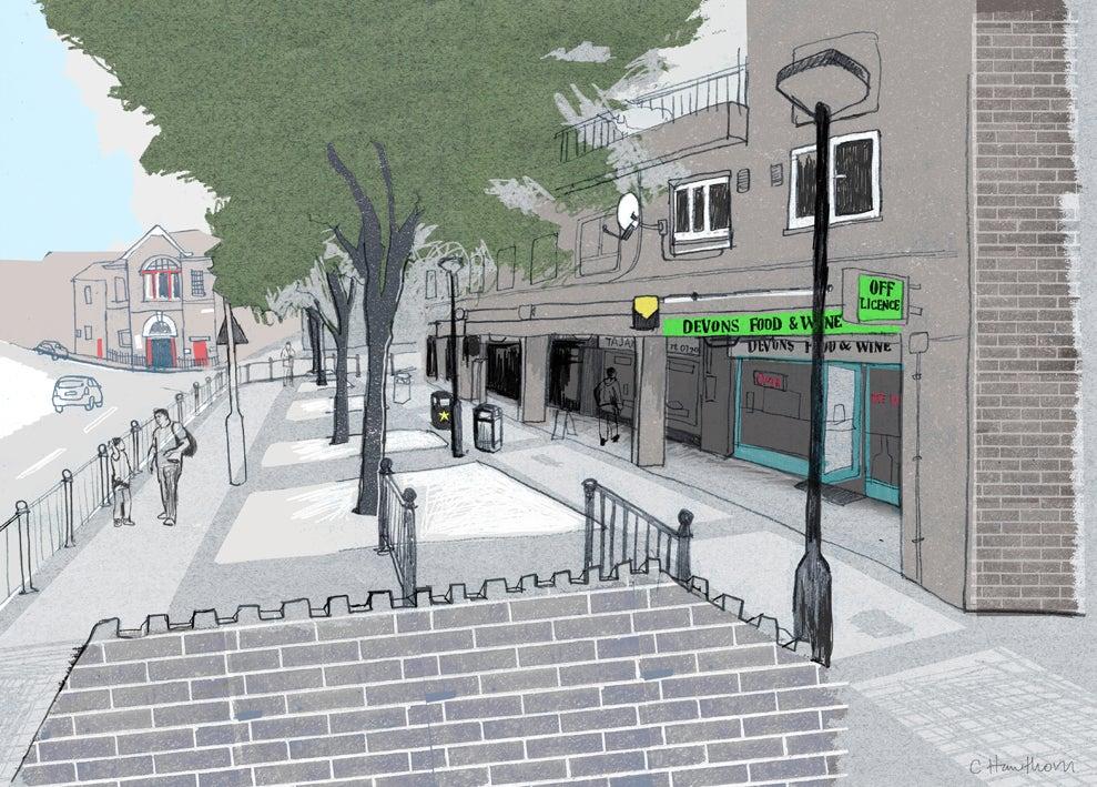 Image of Devons Road