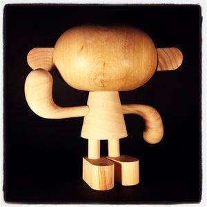 Image of Mike Burnett's NeighborWood DIY Wooden Sculpture