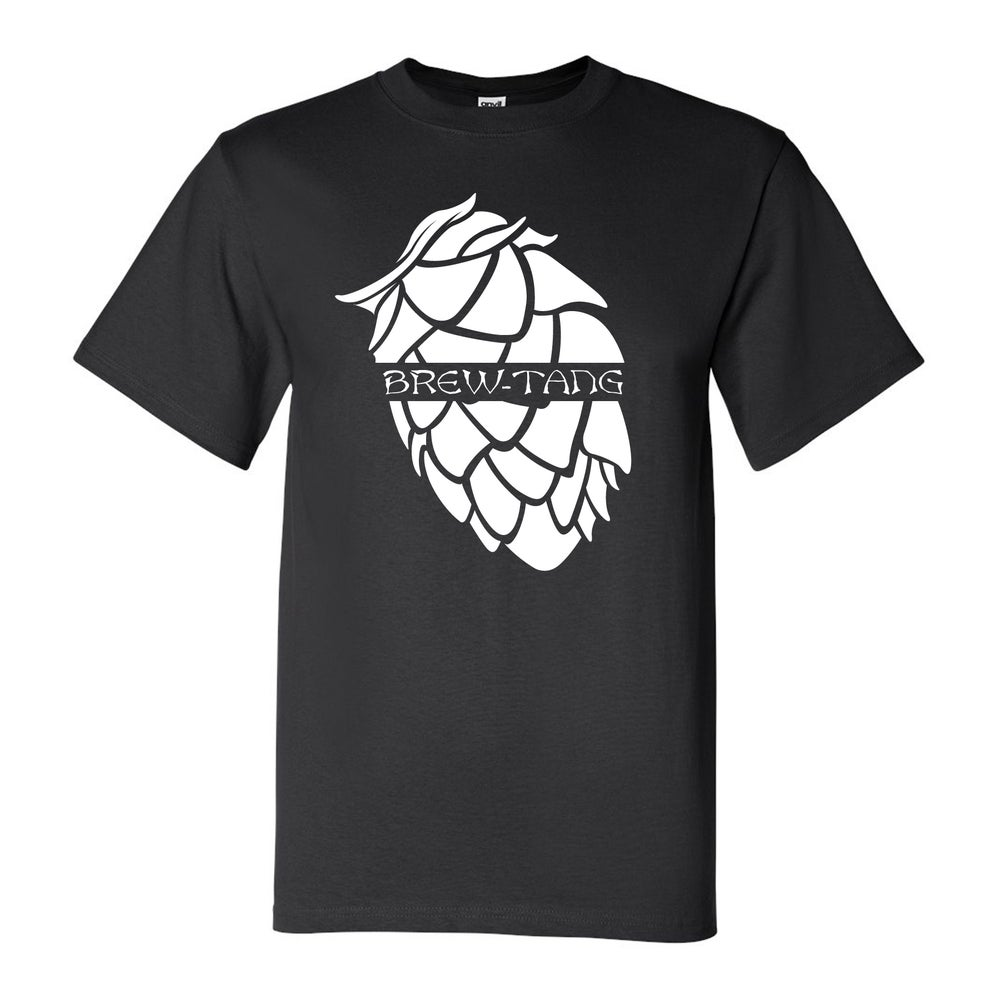 Image of BREW-TANG HOP TEE (Black/White)