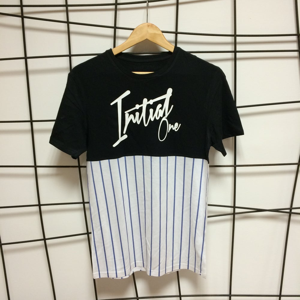 Image of Two Tone Stripe Tshirt - FREE DELIVERY