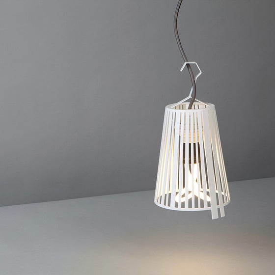 Image of BarDeco Lamp white