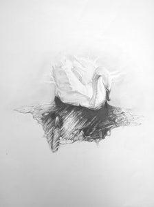 Image of Black & White (2012 framed original)