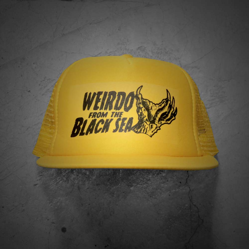 Image of WEIRDO FROM THE BLACK SEA HAT (YELLOW)
