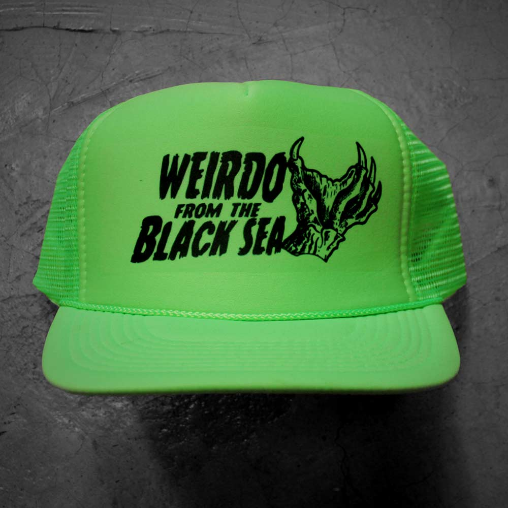 Image of WEIRDO FROM THE BLACK SEA - GREEN HAT