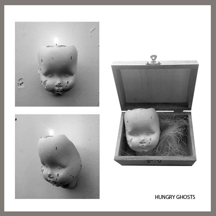 """Image of HUNGRY GHOSTS """"CANDLE"""""""