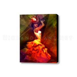 Image of  Day 1 of Flamenco February. Original and prints