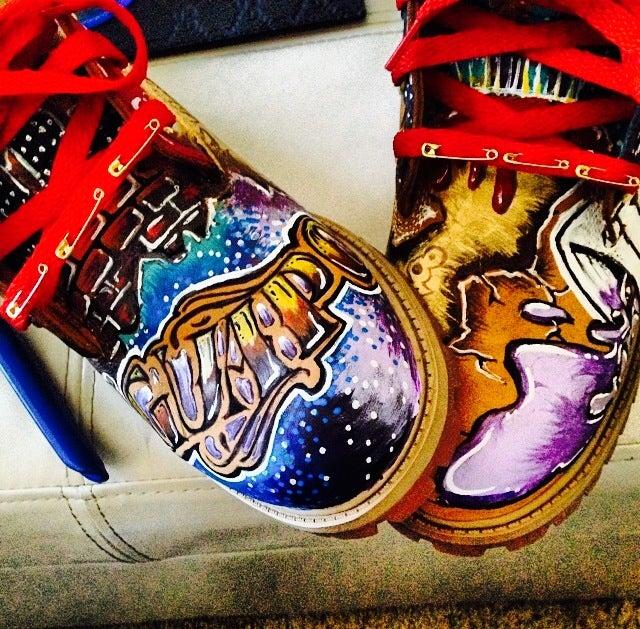 Custom timberland boots tumblr