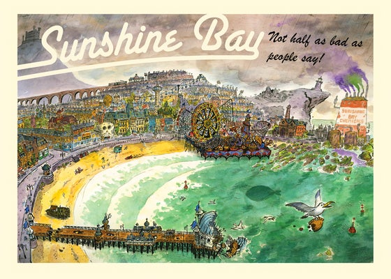 Image of Sunshine Bay mini comic (all ages comic)
