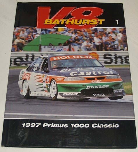 Image of 1997 V8 Bathurst Book. Hard cover. Primus 1000. Perkins Wins