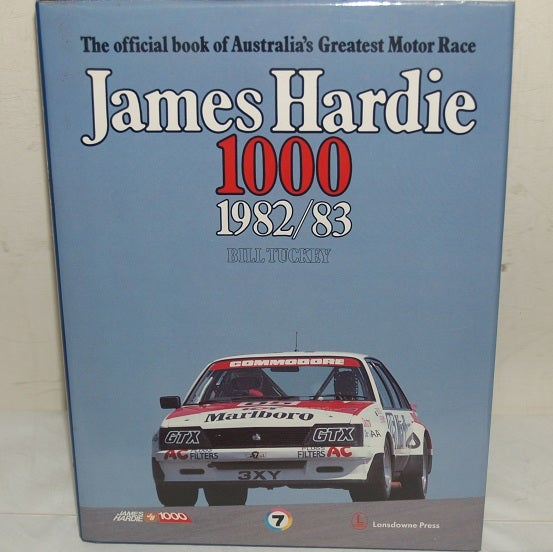 Image of Bathurst 1982. JH 1000. Great Race book. Peter Brock wins.