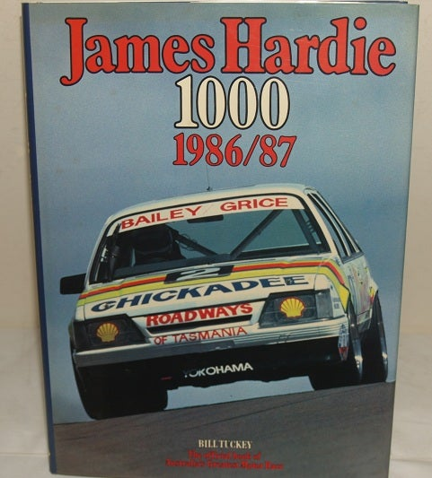Image of Bathurst 1986 JH 1000. Gricey wins in a HOLDEN.