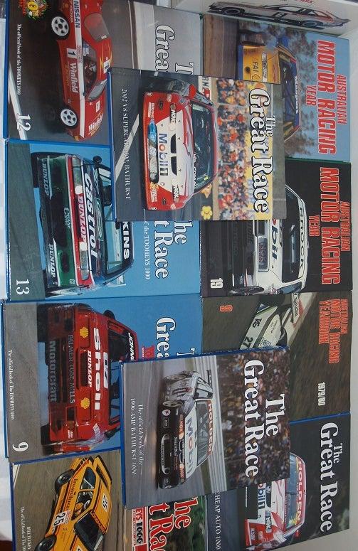 Image of BATHURST GREAT RACE BOOK 1988. LONGHURST/MEZERA WIN IN SIERRA