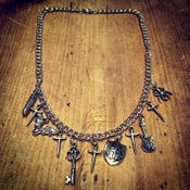 Image of Goth Fest Charm Necklace