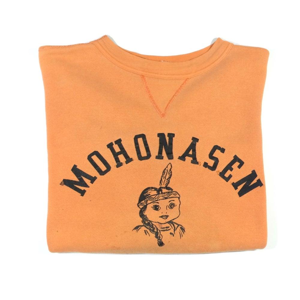Image of mohonasen indian print single V sweatshirt