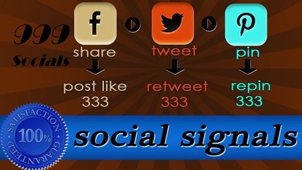 Image of 999 Social Signals