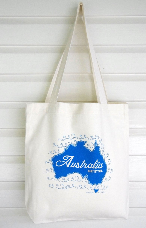 Image of Australia Market Bag {assorted colours}