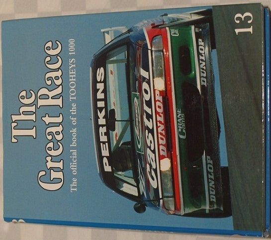 Image of BATHURST GREAT RACE. RARE BOOK # 13. PERKINS/INGALL WIN IN THE HOLDEN