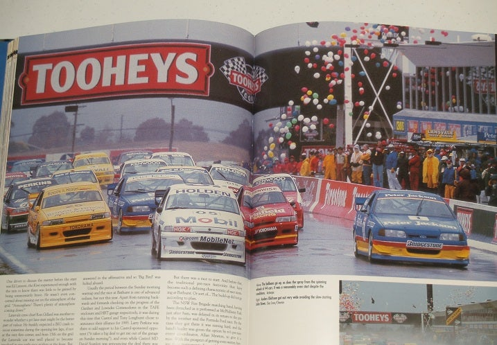 Image of THE GREAT RACE BOOK #14. BATHURST. DICK JOHNSON/JOHN BOWE WIN IN FORD