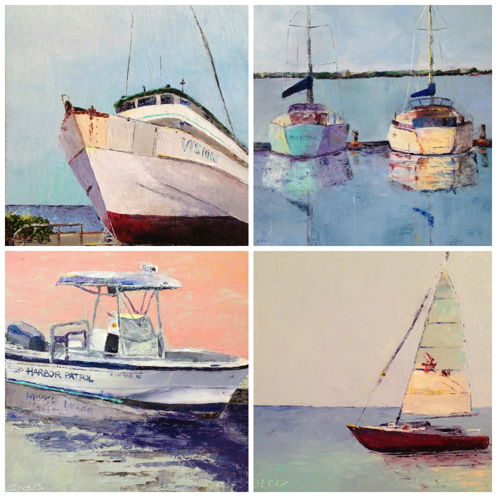 Image of BOAT PORTRAIT Paintings by Commission