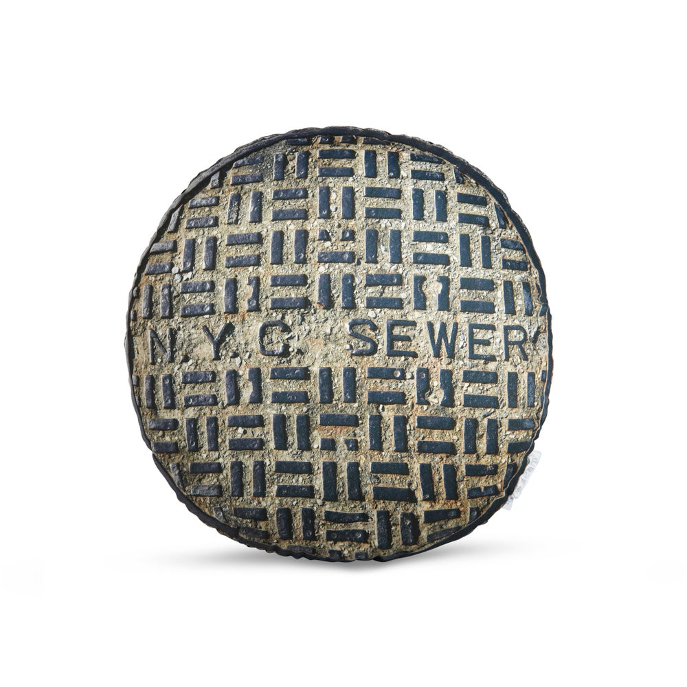 Image of NYC Sewer Cover -small-