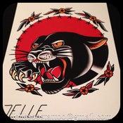 Image of Panther print