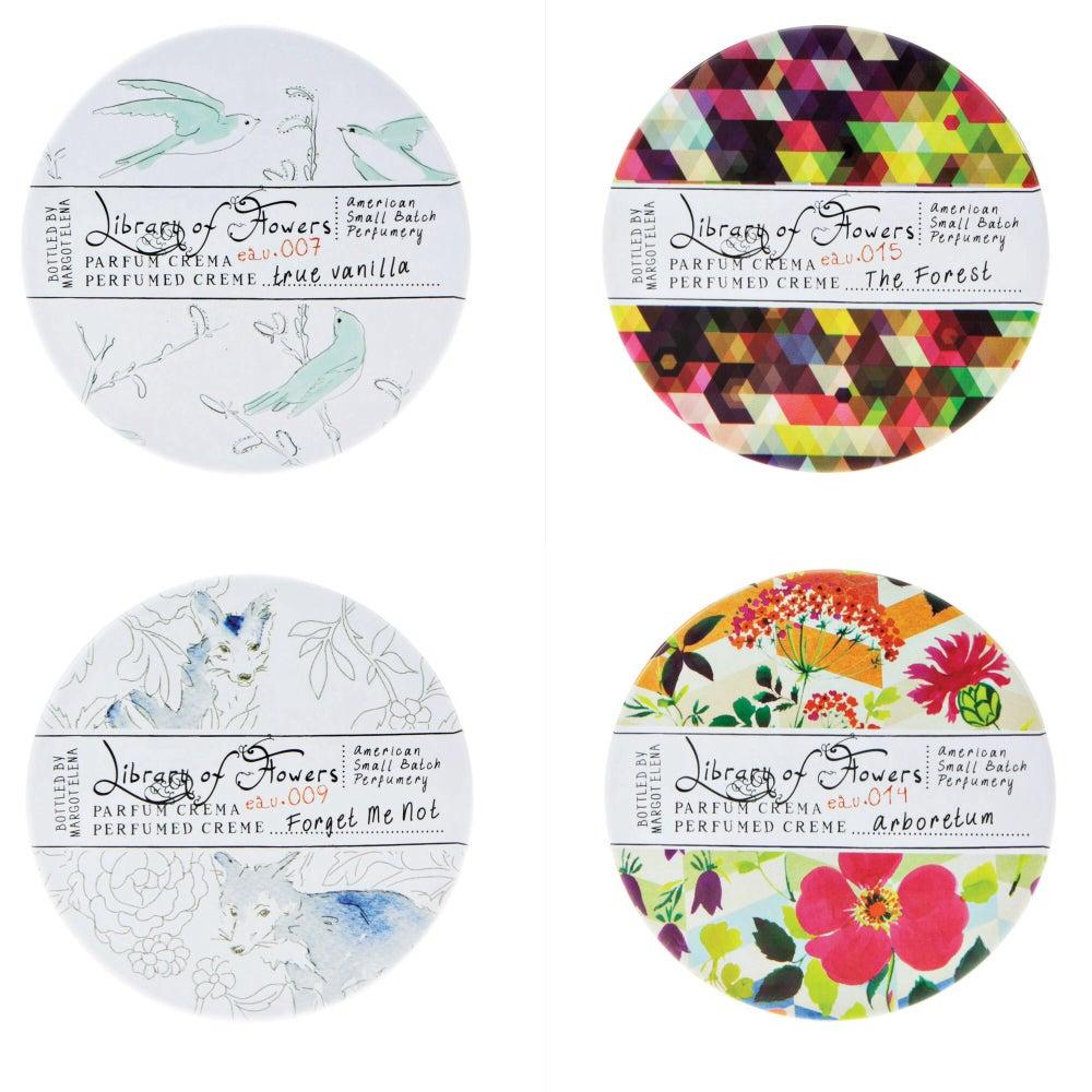 Image of Library of Flowers - Parfum Crema