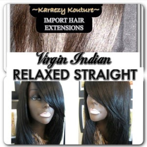 Image of Virgin INDIAN RELAXED STRAIGHT  ***Restocks March 25, 2015***