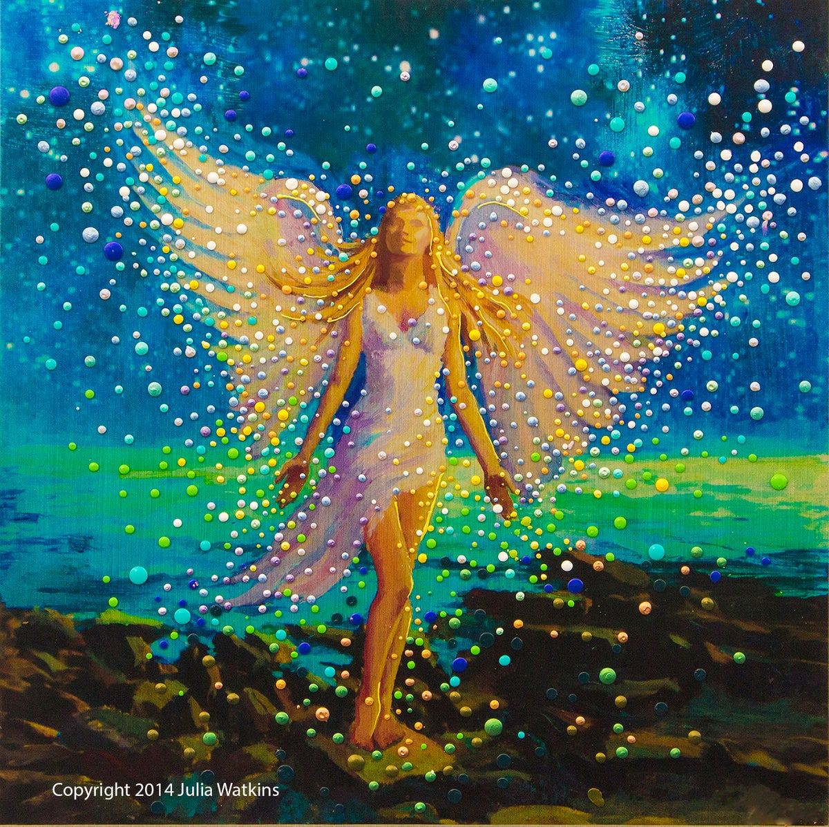 The Energy Art Store By Julia Watkins Star Angel An