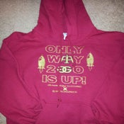 "Image of ""Only Way 2 Go Is Up"" Hoodie (Collab with Jaeson Green)"