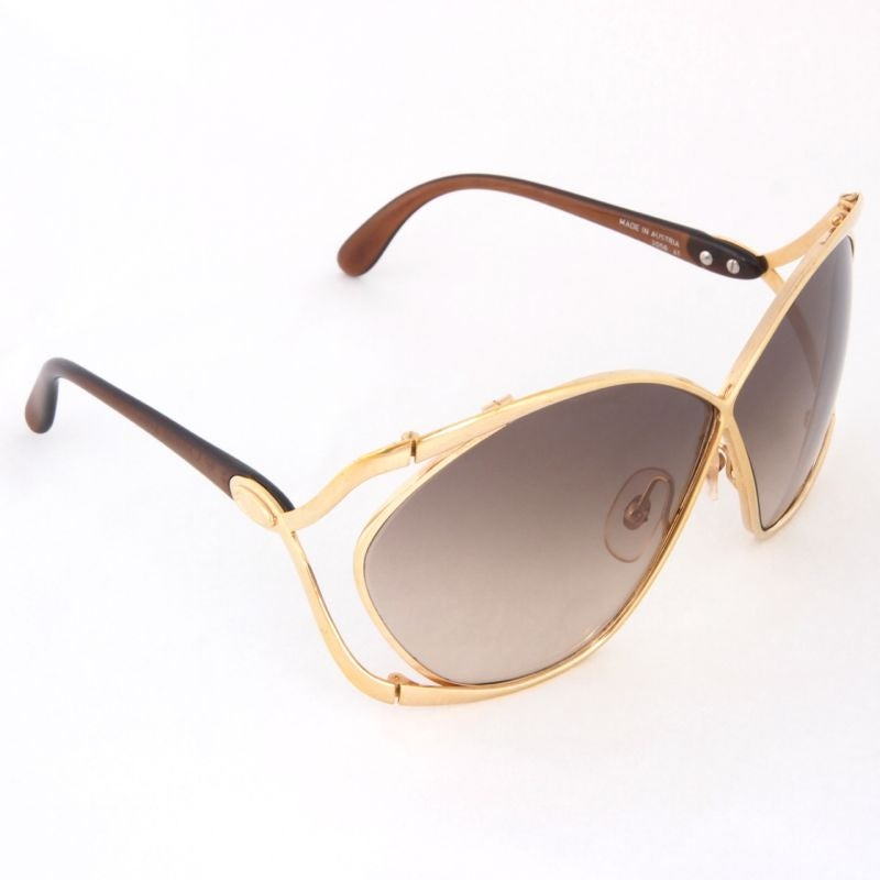 Vintage Christian Dior Butterfly Oversized Sunglasses / M ...