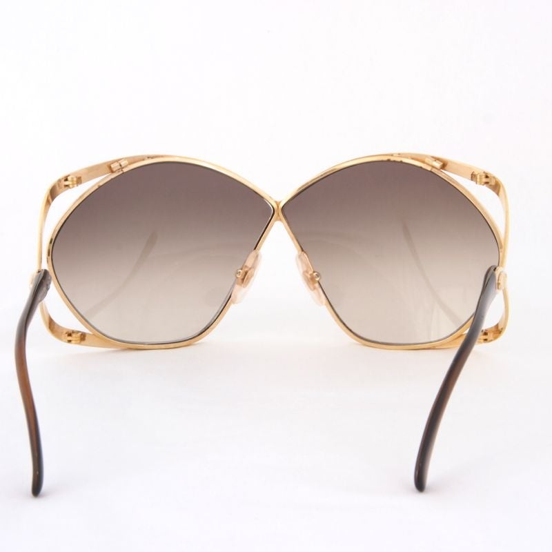 Image of Vintage Christian Dior Butterfly Oversized Sunglasses
