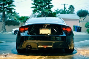 Image of Innovated Dynamics Rear Muffler Delete Covers (FRS/BRZ/GT86)