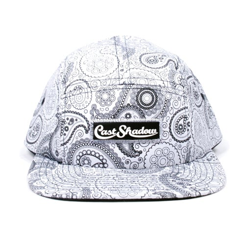Image of Paisley Camper (White)