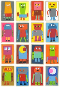 Image of The Robot Army print