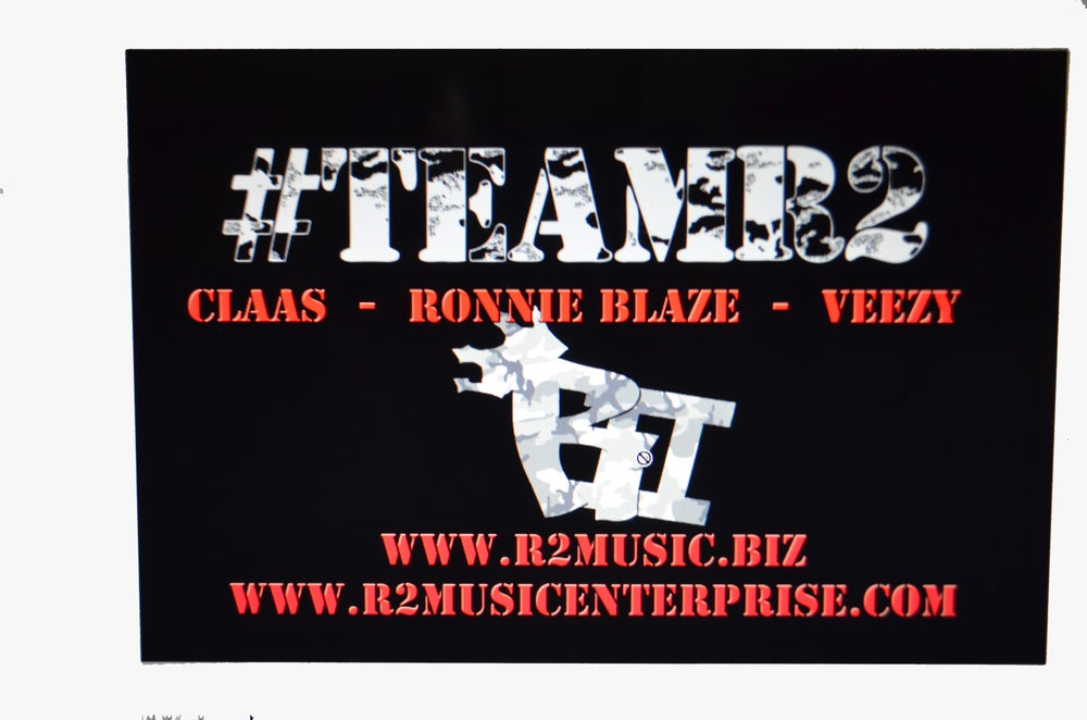Image of 11 x 17 #TEAMR2 Poster!!