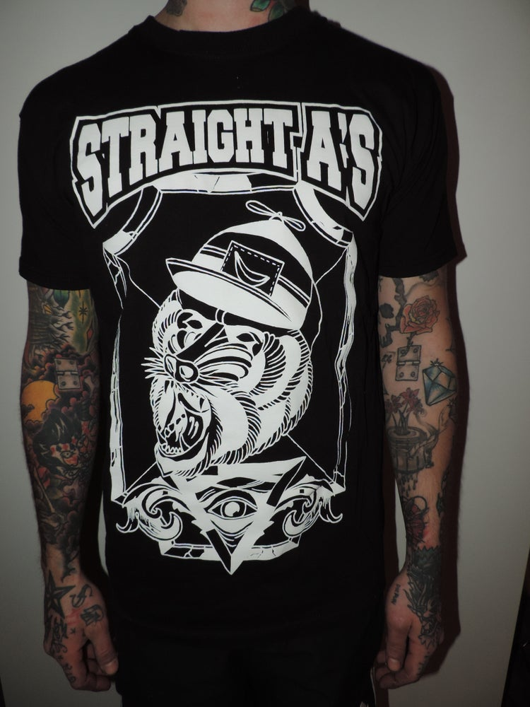 Image of Straight A's Baboon T-Shirt