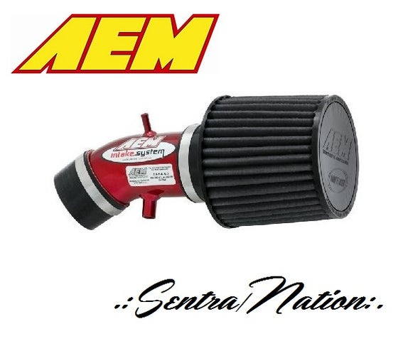 Image of (B15) AEM Short Ram Intake kit for 02-06 Sentra 2.5L L4