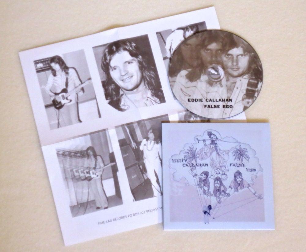 Image of EDDIE CALLAHAN ~ FALSE EGO ~ cd (TIME-LAG 056)