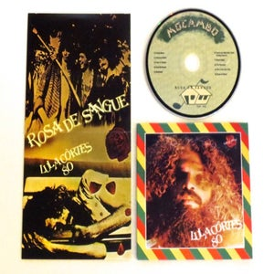 Image of LULA CORTES ~ ROSA DE SANGUE ~ cd (TIME-LAG 041)