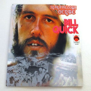 Image of BILL QUICK ~ MARAVILLOSA GENTE ~ lp (TIME-LAG 038)