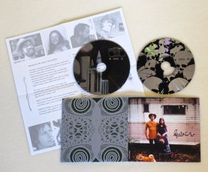 Image of MV & EE WITH THE BUMMER ROAD ~ MOTHER OF THOUSANDS ~ 2cd (TIME-LAG 033)
